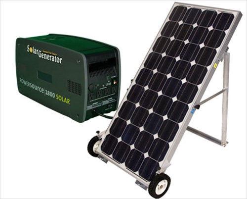 Solar Backup Generator System