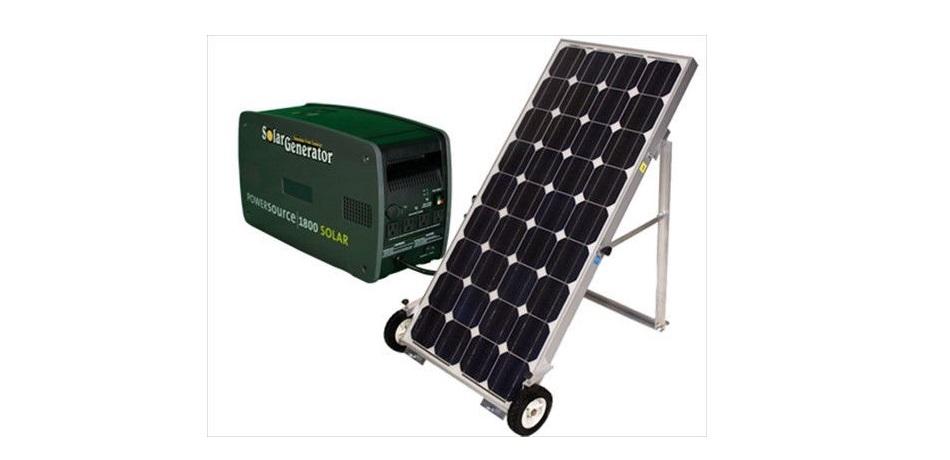 solar backup generator